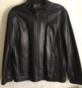 Натуральна кожаная куртка