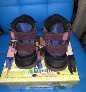 Ботинки демисезонные Dandino для девочки