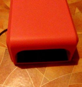 УФ лампа для наращивания ногтей и шеллака
