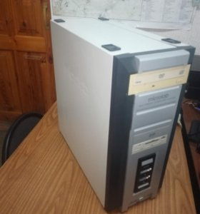 Компьютер 2-ядерный, 4 Гб оперативной памяти