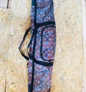 Комплект сноуборд крепления ботинки (43 р) чехол