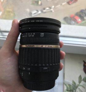 объектив Tamron для Canon SP AF 17-50 mm f/2.8