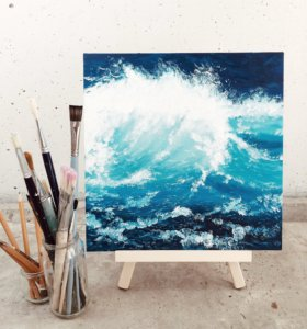 Картина Волна море