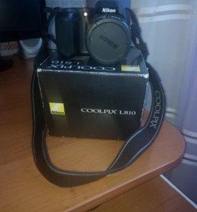Фотоаппарат никон COOLOPIX L810