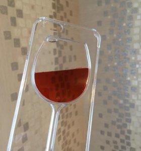 """Чехол """"вино"""" для iphone 5, 5S. SE, 6, 6+, 6S+"""