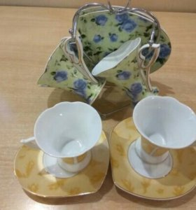 Чайные пары YAMASEN золотая коллекция