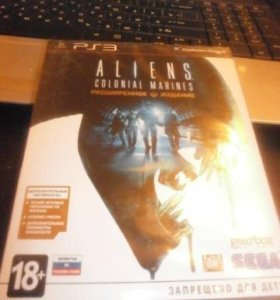 Aliens coloial marines расширенное издание