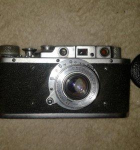 Настоящий советский фотоаппарат ФЭД