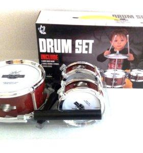 Детские музыкальные барабаны