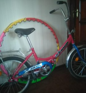 Велосипед подростковый складной .