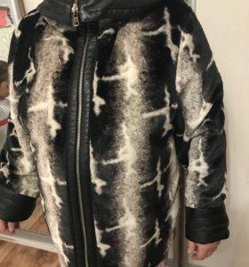 Куртка кожаная. Двухсторонняя. (Демисезонная)