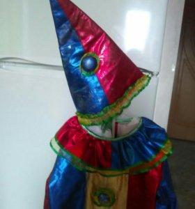 Карнавальный костюм. Клоун