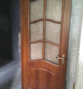 Двери дерево