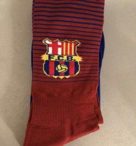 Футбольные гетры Барселона