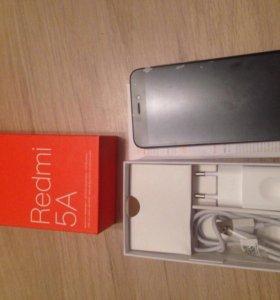 Новый!!! Xiaomi Redmi 5A с 2 симками