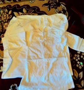 Новый Набор для крещения размер 22 рубашка 40 см