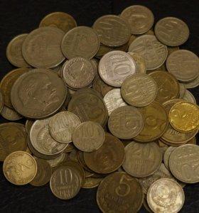 130 монет погодовка СССР 1961-1991 от 22 февраля