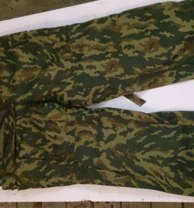 Тёплые камуфлированные штанишки