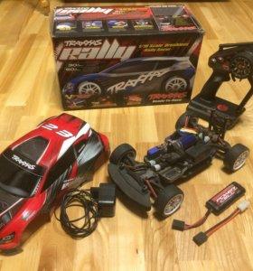 Радиоуправляемая модель traxxas rally 1/16