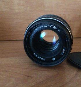 Helios 77m-4 с бесконечностью Nikon