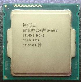 Intel Core i5 4670 Socket 1150 3400 МГц 4 ядра