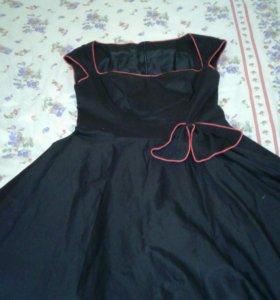 Платье вечернее стиль 60-е годы