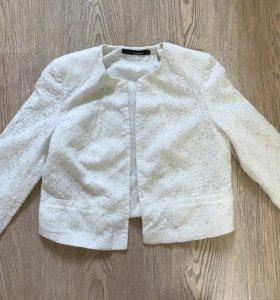 Укороченый ажурный пиджак (42-44)