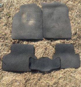 Текстильные коврики шевролет круз