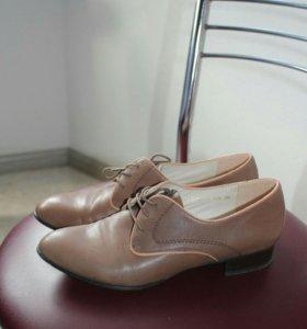 Туфли, кожа, новые, 38
