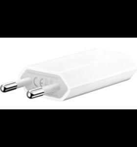 Блок для зарядки айфон оригинал адаптер