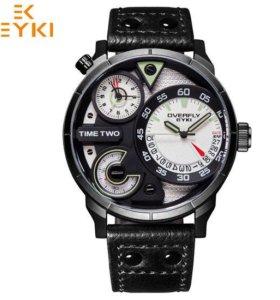 Стильные мужские пилотные часы EYKI