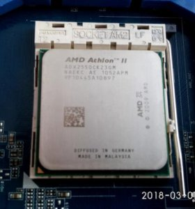 AMD athlon II X2 255 3.1GHz AM 3 АМ2+