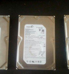 3 жестких диска