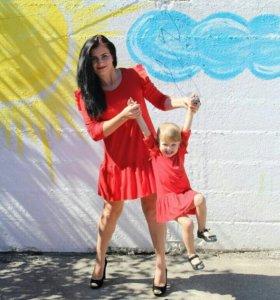 Платья мама/дочь