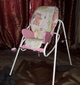 Стульчик для кормления+кресло качалка