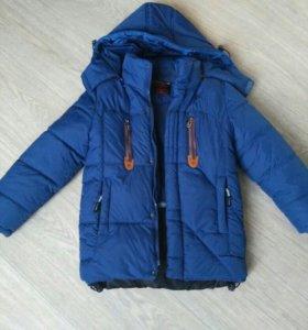 Куртка на мальчика зима на 4-6 лет