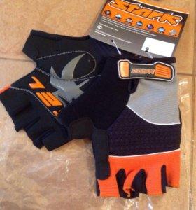 Новые перчатки велосипедные, профсерия stark L