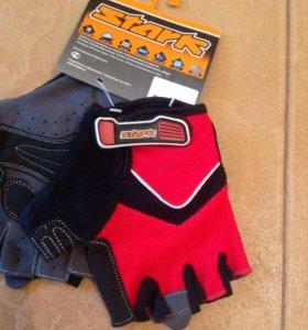 Новые велоперчатки, профсерия, stark L