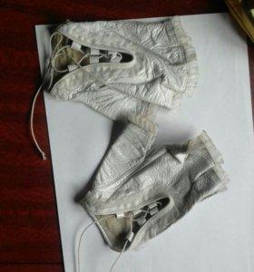 Авто-перчатки нат.кожа
