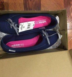 Женские балетки Adidas Neo