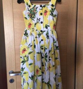 Платье в стиле дольче