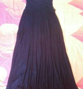 Платье летнее длинное турецкое