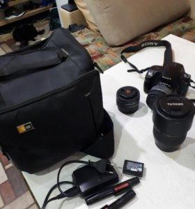 Sony A290, Tamaron af 70-300 mm, Sony ADT1.8/50