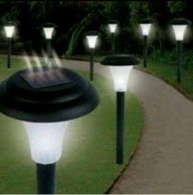 """Садовые""""Солнечные""""большие фонари"""
