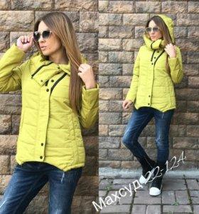 Новая куртка на теплую весну/осень
