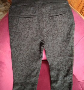 брюки жаккард