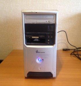 2 ядра бесшумный компьютер