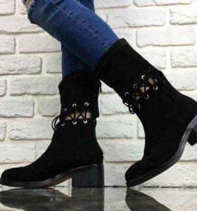 Новые женские ботинки Chanel. Весна.