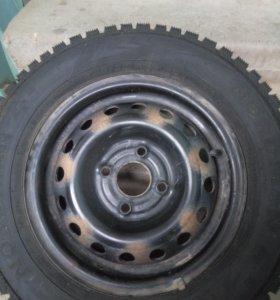 Комплект зимних шипованных колес 175/70 R13