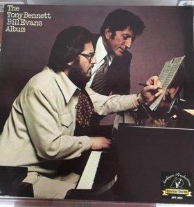 Bill Evans Tony Bennett винил джаз 1975 USA